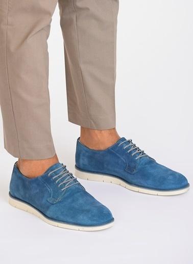 D by Divarese Oxford Ayakkabı Mavi